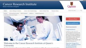 Queen's University Head of Dept. of Oncology, Dr. Jim Biagi speaks about the importance of cancer research fund-raising