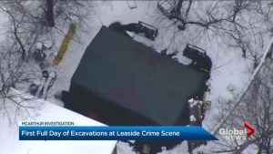 Excavation begins at home connected to alleged serial killer Bruce McArthur