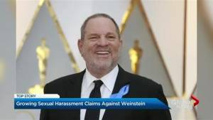 Sexual harassment claims grow against Weinstein