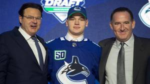 Canucks make first-round pick in 2019 NHL Draft