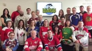 Canadians wear jerseys to honour Humboldt Broncos