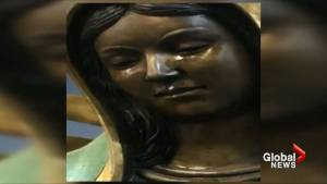 Believers flocking to statue of 'weeping' Virgin Mary in Catholic Church in New Mexico