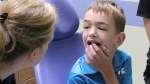 Boy in Texas speaks clearly for first time after dentist discovered he was tongue-tied
