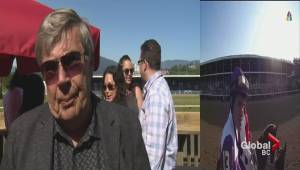 Vancouver horse racing fans celebrate the Kentucky Derby
