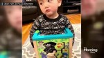 Police rescued this kid stuck inside a toy