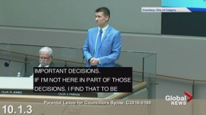 Jeremy Farkas says he cannot support motion for maternity leave