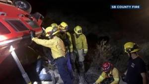 California woman rescued from overturned car almost a week after calling 911