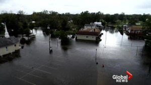 Hurricane Florence: Drone video shows devastating flooding in North Carolina