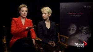 Evan Rachel Wood on her new movie, Allure