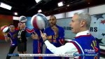 Learning some b-ball tricks from the Harlem Globetrotters