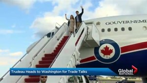 Trudeau heads to Washington for NAFTA negotiations