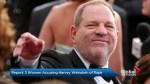 Report: 3 women accusing Harvey Weinstein of rape