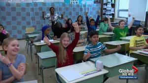 SkyTracker Weather School stops in at Sutherland School