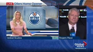 On The Road show at Rogers Place for Oilers' season opener