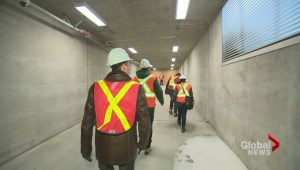 MUHC tunnel tour