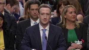 Facebook's Mark Zuckerberg arrives to testify before U.S. lawmakers