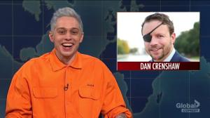 Pete Davidson mocks congressional candidate's combat wound on SNL
