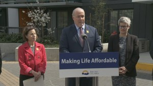 Premier Horgan announces new housing fund