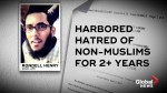 U.S. feds arrest Maryland man for allegedly plotting ISIS-inspired truck attack
