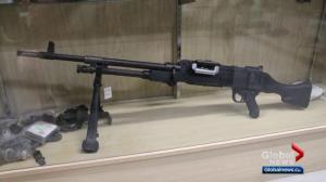 6 deactivated guns stolen from Edmonton army surplus store