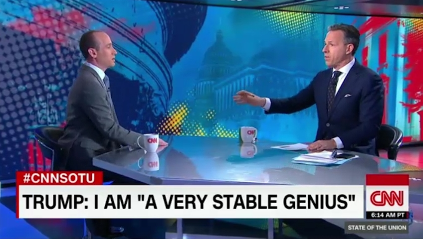 Stephen Miller backs Trump as 'genius', and gets kicked off CNN