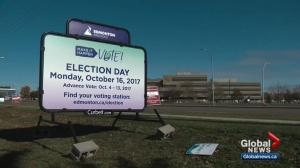 Candidates make final push in Edmonton election campaign