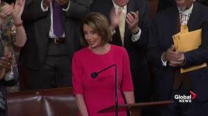 Nancy Pelosi announced as Democrat's nominee for House Speaker