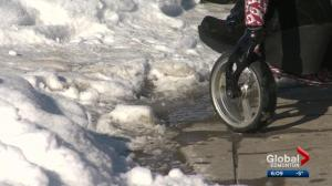 A look at the impact of winter weather on Edmontonians with wheelchairs
