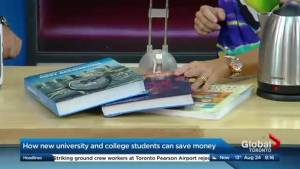 Money saving hacks for college and university students (03:38)