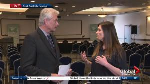 Interview with vice-president of the Fort Saskatchewan Chamber of Commerce