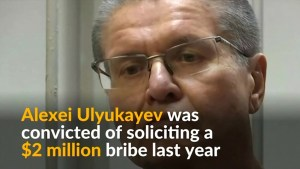 Former Russian government minister jailed for bribery