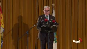 Kevin Vickers announces leadership bid for New Brunswick Liberal Party