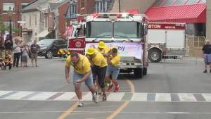 Global News Morning previews the Fire-truck Pull for Epilepsy