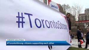#TorontoStrong: Citizens support each other after van attack