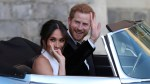 Royal Wedding: Prince Harry and Meghan Markle depart for evening reception
