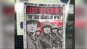 Pro-Nazi posters found at UBC on Remembrance Day