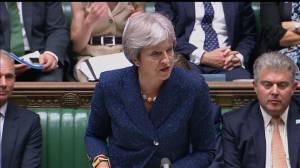 Theresa May addresses Parliament after 2 cabinet resignations, names new Brexit Secretary
