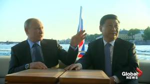 Vladimir Putin, Xi Jinping enjoy leisurely boat tour together