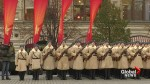 Massive pro-Communist display held in Moscow's Red Square