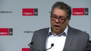 Calgary mayor tells businesses 'we've got your back'