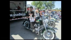 "Canadian motorcyclists'  ""Ride For Sight""  celebrates 40 years"