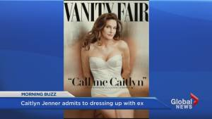 Caitlyn Jenner admits she used to dress up with Kris Jenner