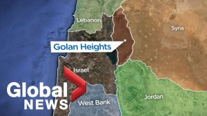 What is the Golan Heights?