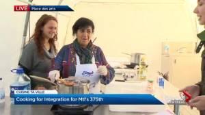 Cuisine ta ville unites refugees