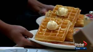 Calgary's Buttermilk Fine Waffles celebrates National Waffle Day in new pop-up location