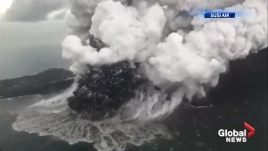Authorities warn that volcano that triggered tsunami in Indonesia could unleash another one