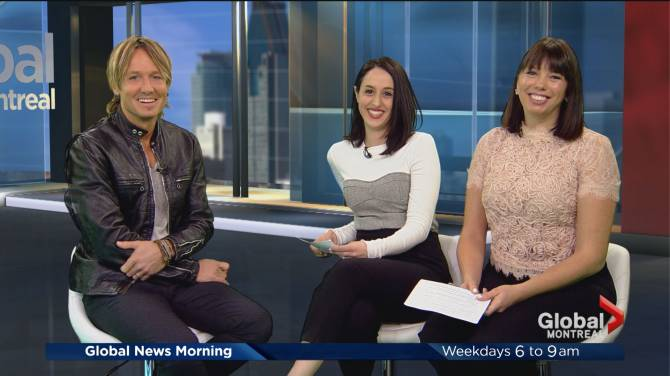 Keith urban announces edmonton stop on graffiti u world tour watch below keith urban appears on global montreal morning news ahead of ripcord world tour m4hsunfo