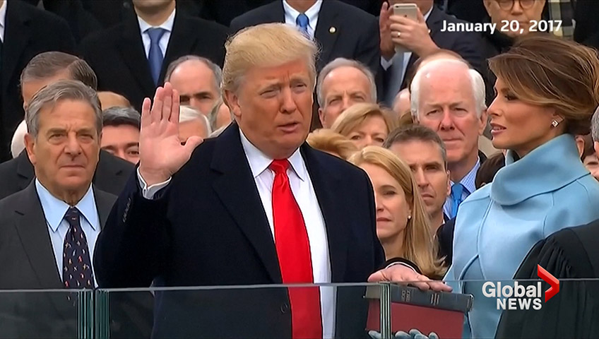 Click to play video 'Feds probing Trump inauguration spending: Wall Street Journal'