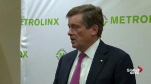 Tory positive with Metrolinx update on SmartTrack implementation