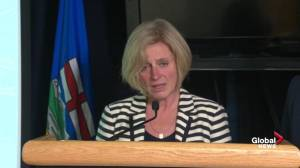 Rachel Notley provides details into how evacuees of Alberta wildfire can get help